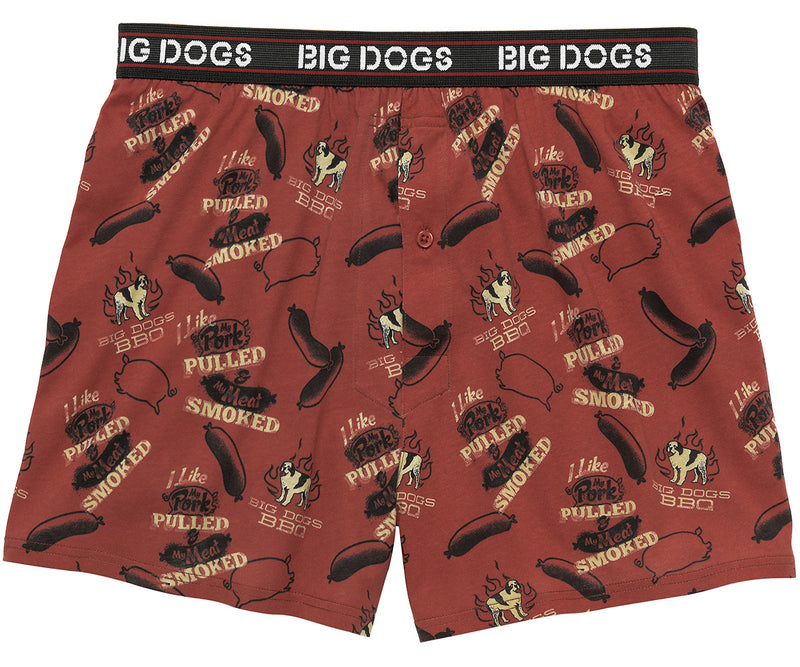 BD BBQ Printed Knit Boxers