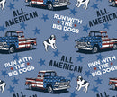 All American Printed Knit Boxers