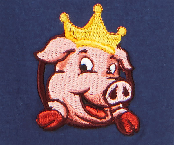 Pork King Embroidered Knit Boxers