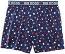 Logo and Stars Printed Knit Boxers