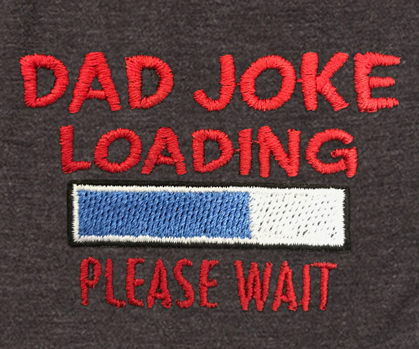 Dad Joke Loading Embroidered Knit Boxers