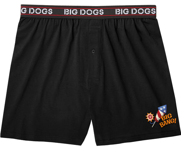 Big Bang Embroidered Knit Boxers