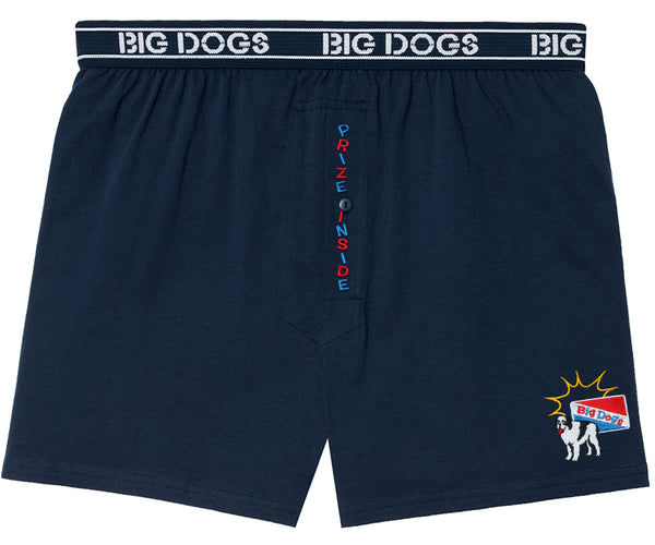 Prize Inside Embroidered Knit Boxers