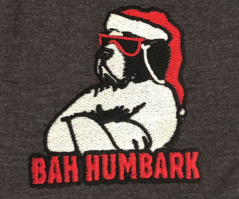 Bah Humbark Embroidered Knit Boxers