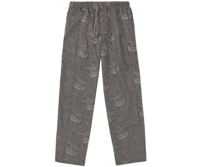 Chief Relaxation Officer Flannel Lounge Pant