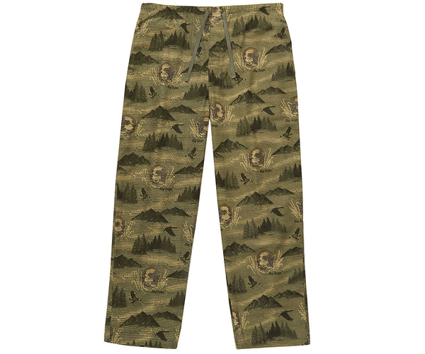 Hunting Dog Flannel Lounge Pant