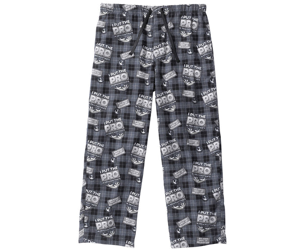 Procrastinate Flannel Lounge Pant