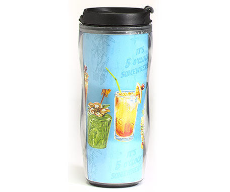 Big Dogs It's Five O'Clock Travel Mug