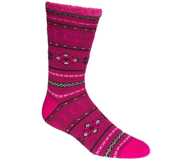 Intarsia Double Layer Socks