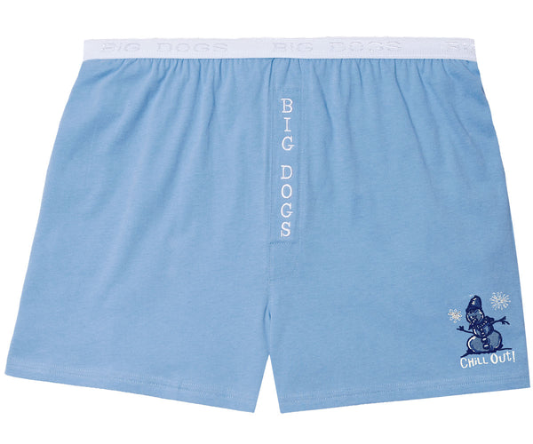 Women's Chill Out Embroidered Knit Boxers