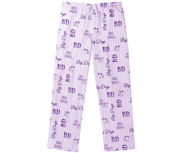 Women's Logo Stripe Flannel Lounge Pants