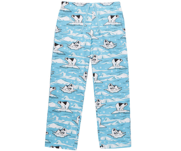 Women's Polar Dog Flannel Lounge Pants