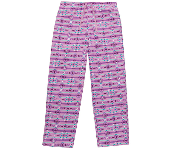 Women's Southwest Big Dog Flannel Lounge Pants