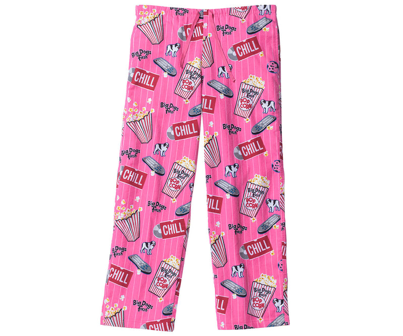 Women's Big Dogs Fresh Flannel Lounge Pants