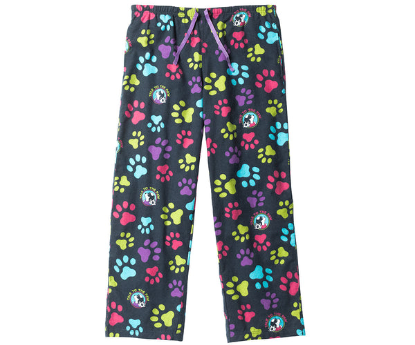 Women's Talk To Paw Flannel Lounge Pants