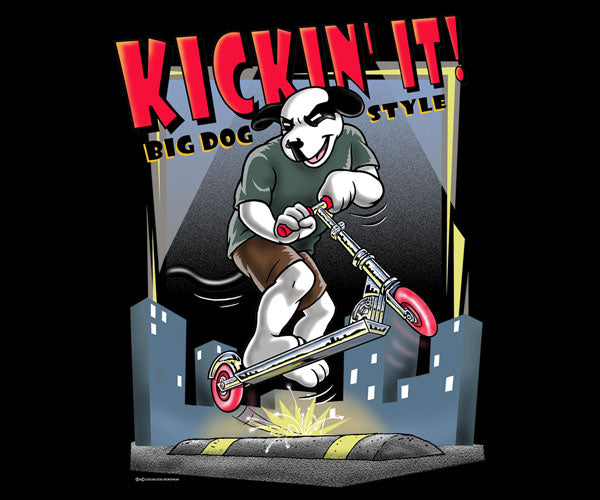 Kickin' It Scooter T-Shirt