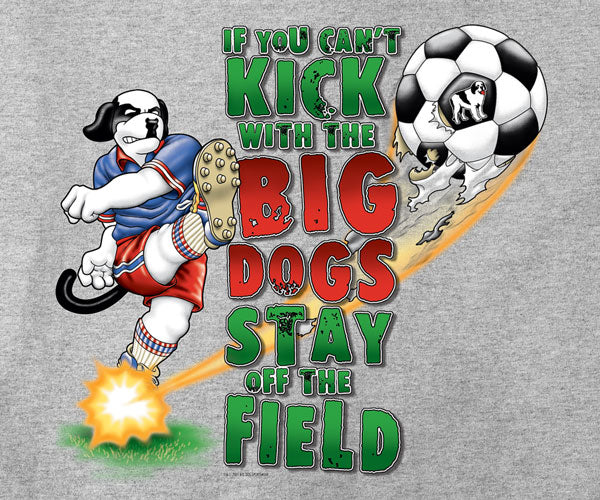 Cant Kick Soccer Kids T-Shirt