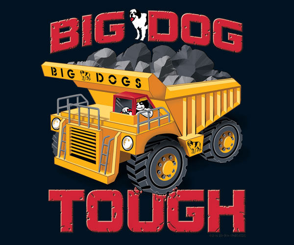 Kids Tough Trucks T-Shirt