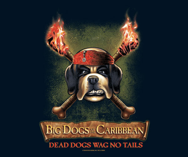 Big Dog's Of The Caribbean T-Shirt