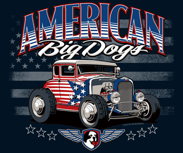American Hot Rod Kids & Youth T-Shirt