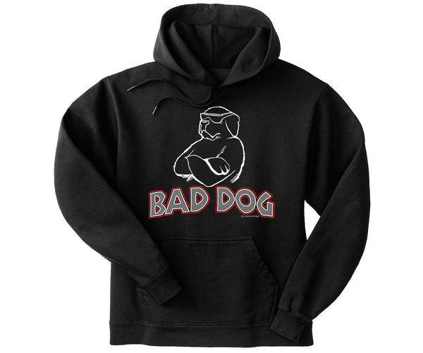 Bad Dog Kids Graphic Hoodie