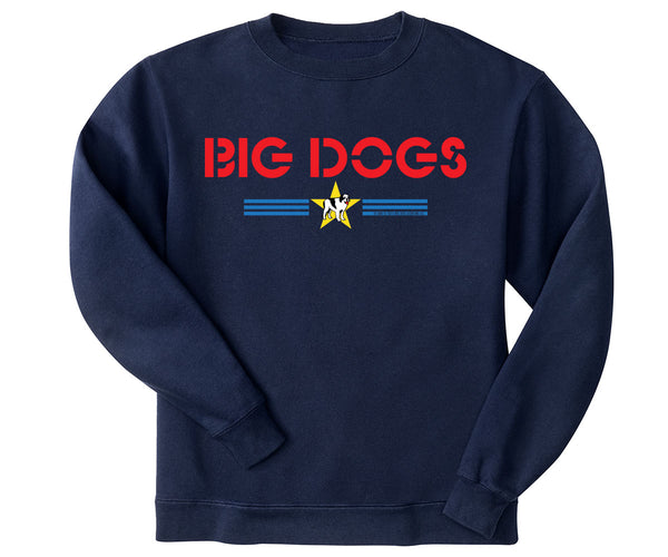Big Dogs Stars & Stripes Kids Crew