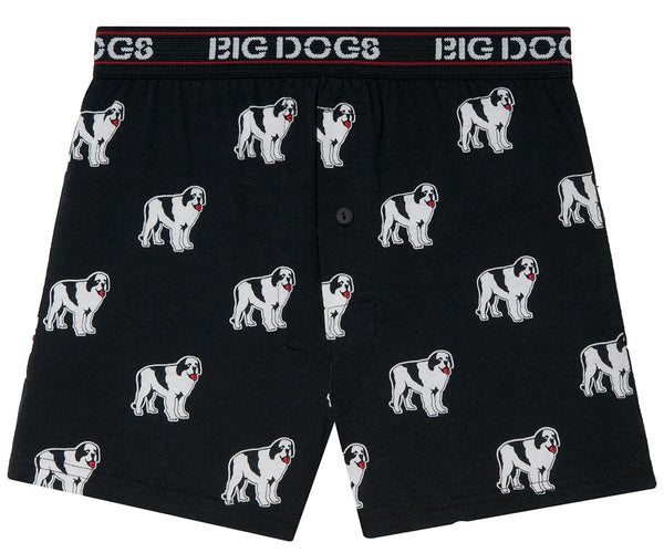 Dogs All Over Printed Knit Boxers
