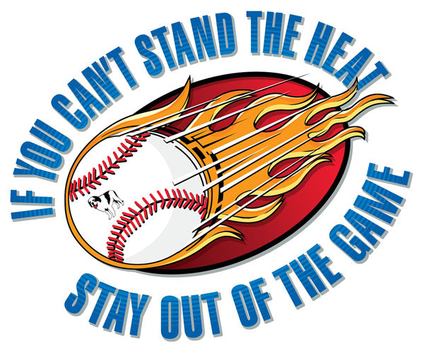 Cant Stand The Heat- Baseball Kids T-Shirt