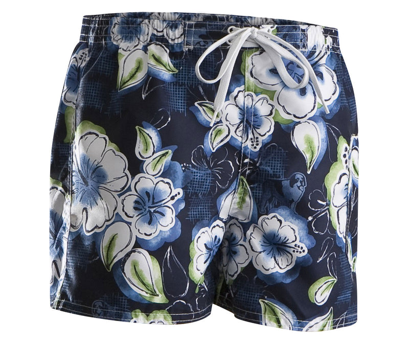 Girls Hibiscus Floral Boardshort