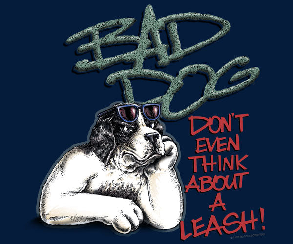 Don't Think About A Leash T-Shirt 2