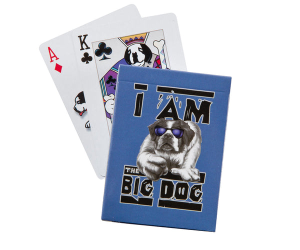 I Am the Big Dog Playing Cards