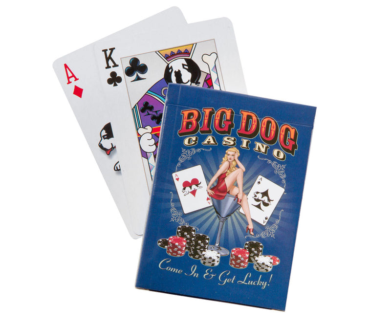 Big Dog Casino Playing Cards