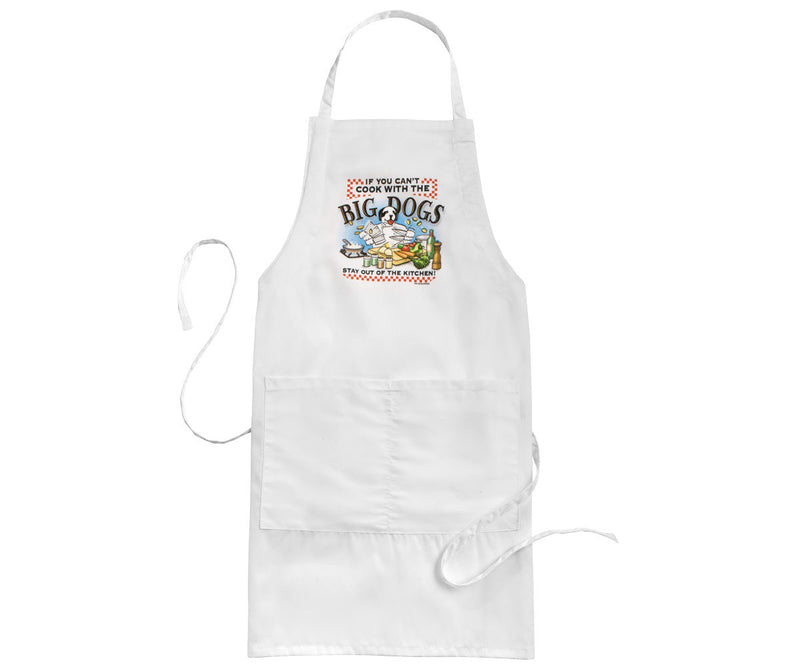 Cook With The Big Dogs Apron