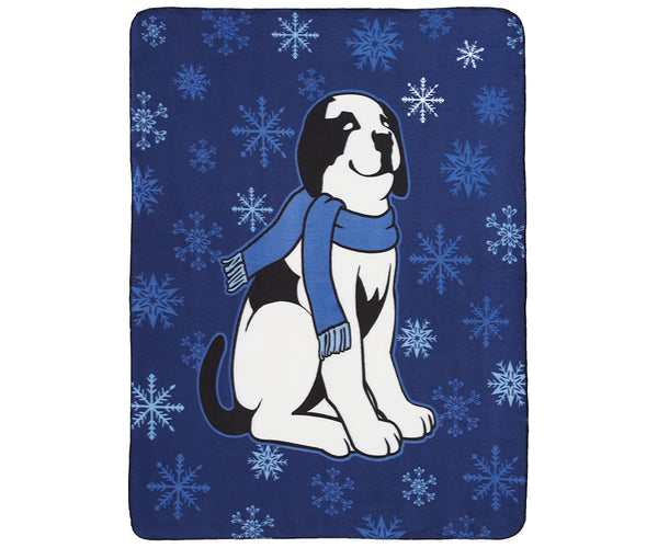 Snowflake Dog Polar Dogs® Throw Blanket