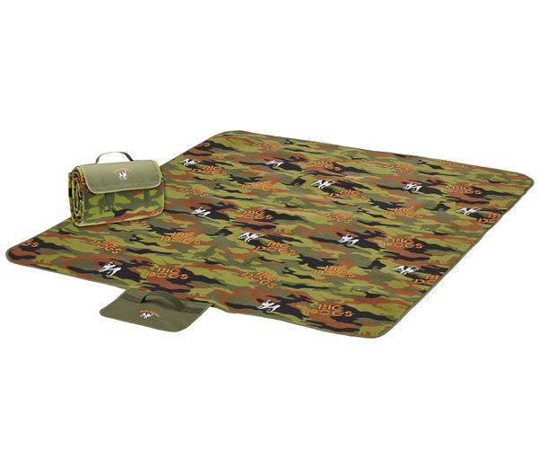 Camouflage Picnic Blanket