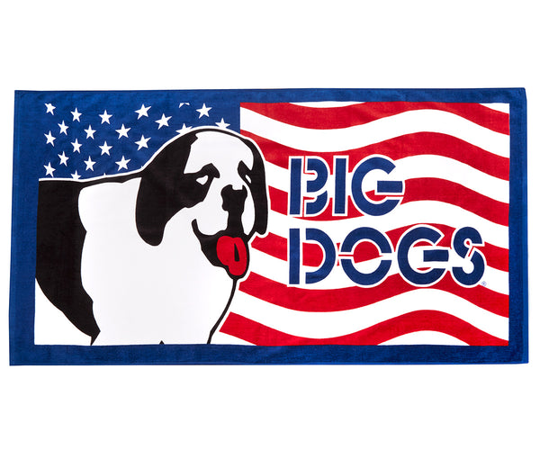 Rad Dog Flag Towel