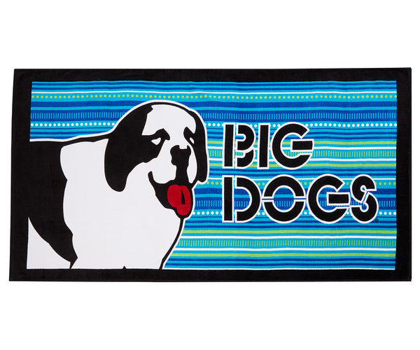 Rad Dog Stripe Towel