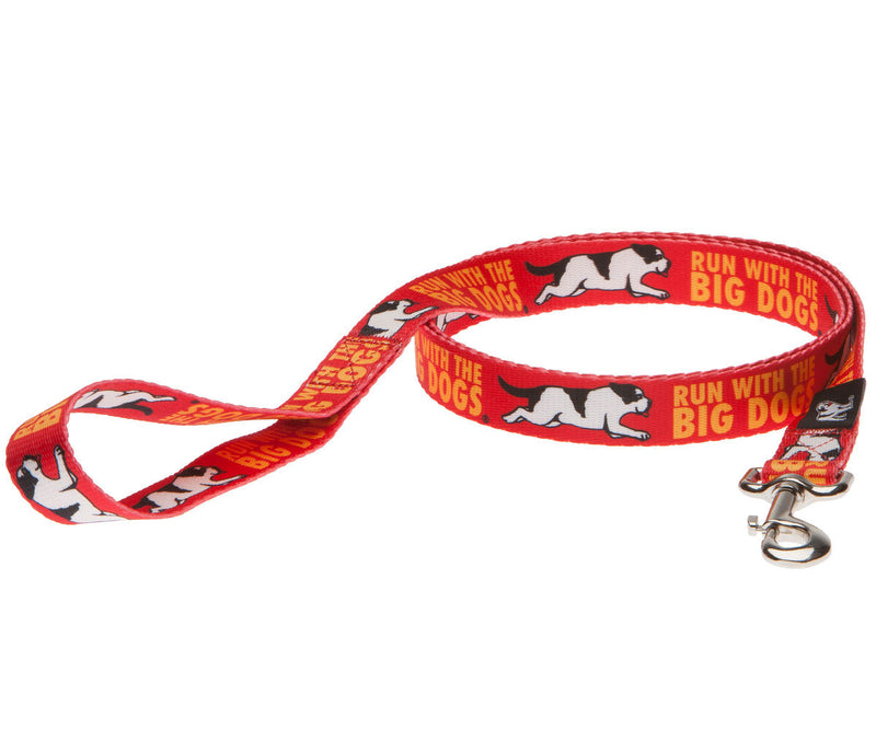 "Run With The Big Dogs 1"" Leash"