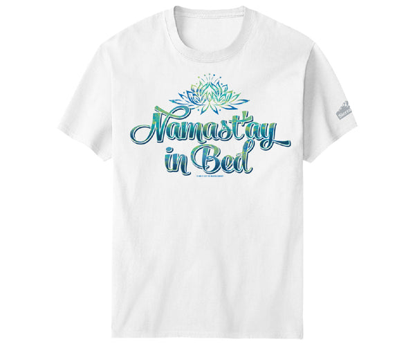 Namastay In Bed SW T-Shirt