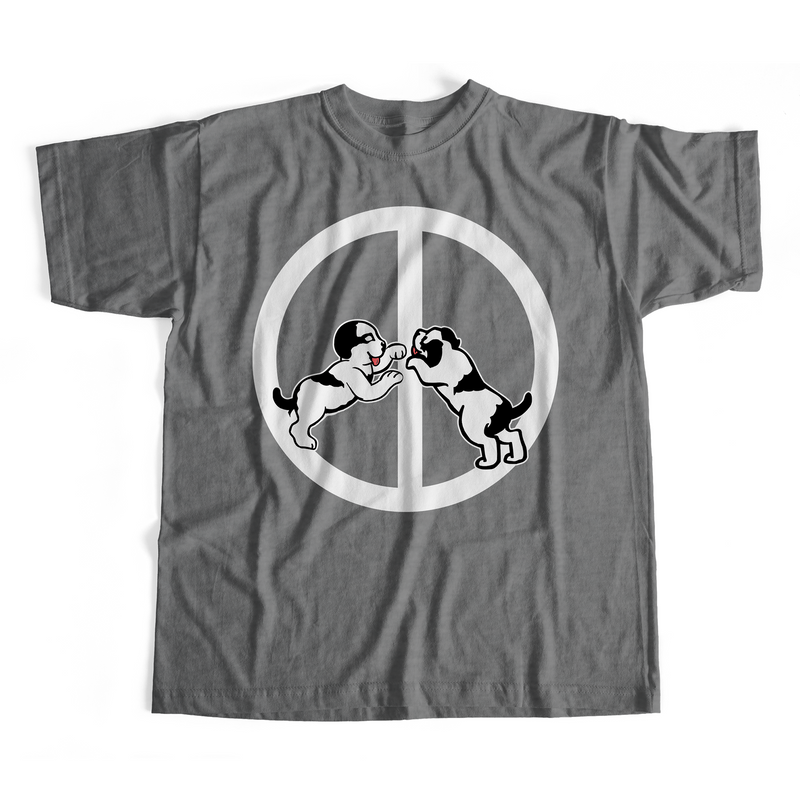 Pups For PeaceT-Shirt