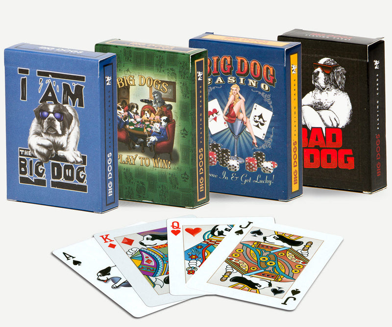 Big Dogs Playing Card Set
