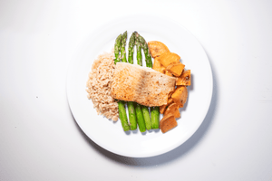 Salmon & Asparagus - Build
