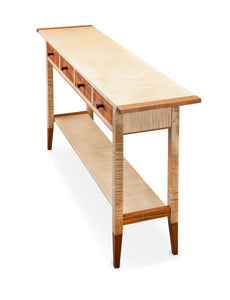 Solid Tiger Maple Table