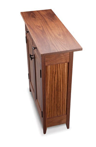 Zebra Two-Drawer Side Cabinet