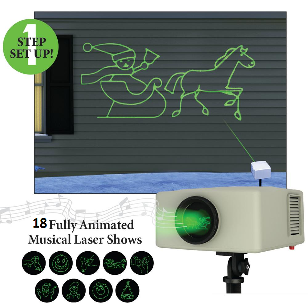 MR. CHRISTMAS MUSICAL LASER PROJECTOR