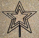 "24""Star Flare - 3 Channel Frame Only"