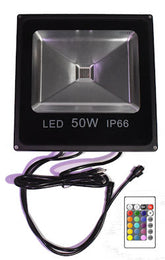 RGB 50 watt DMX flood light