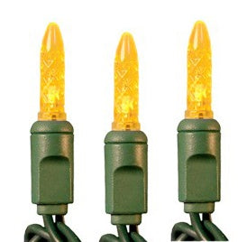 M5 YELLOW LED MINI LIGHTS 100 LEDS (Commercial Grade)