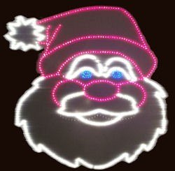 4 Animated Santa Claus Light-o-Rama sequences with audio files.