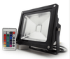 20 Watt Commercial RGB  Colored LED Flood Light